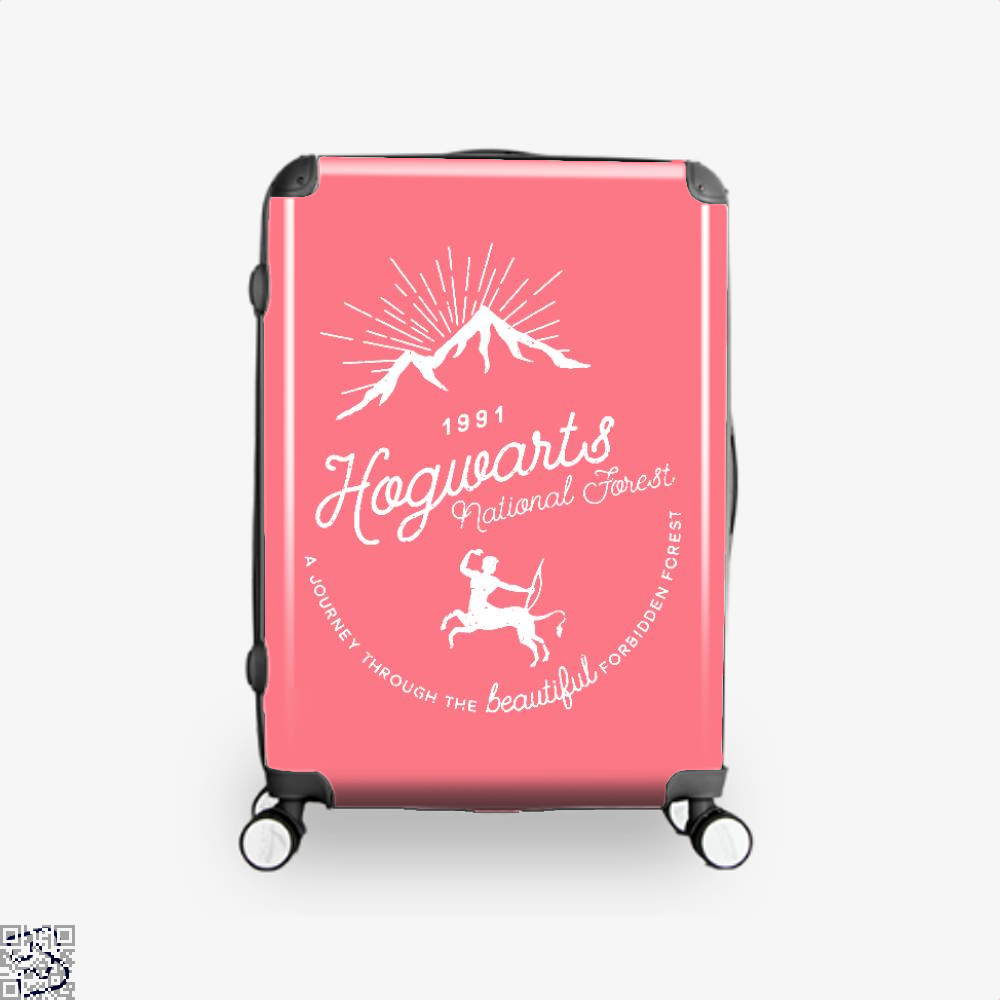Hogwarts National Forest Varient Harry Potter Suitcase - Pink / 16 - Productgenjpg
