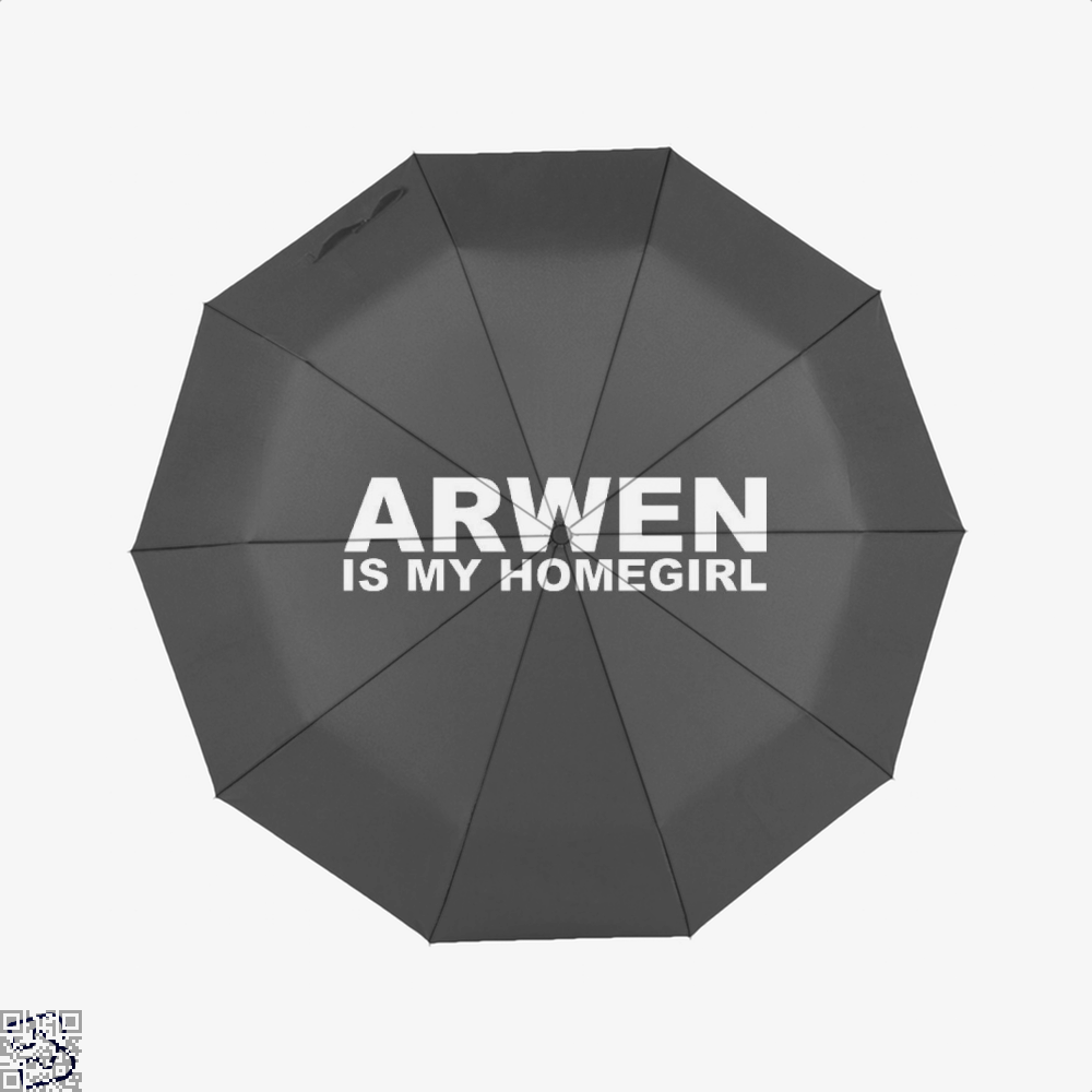Homegirl Lord Of The Rings Umbrella - Black - Productgenapi