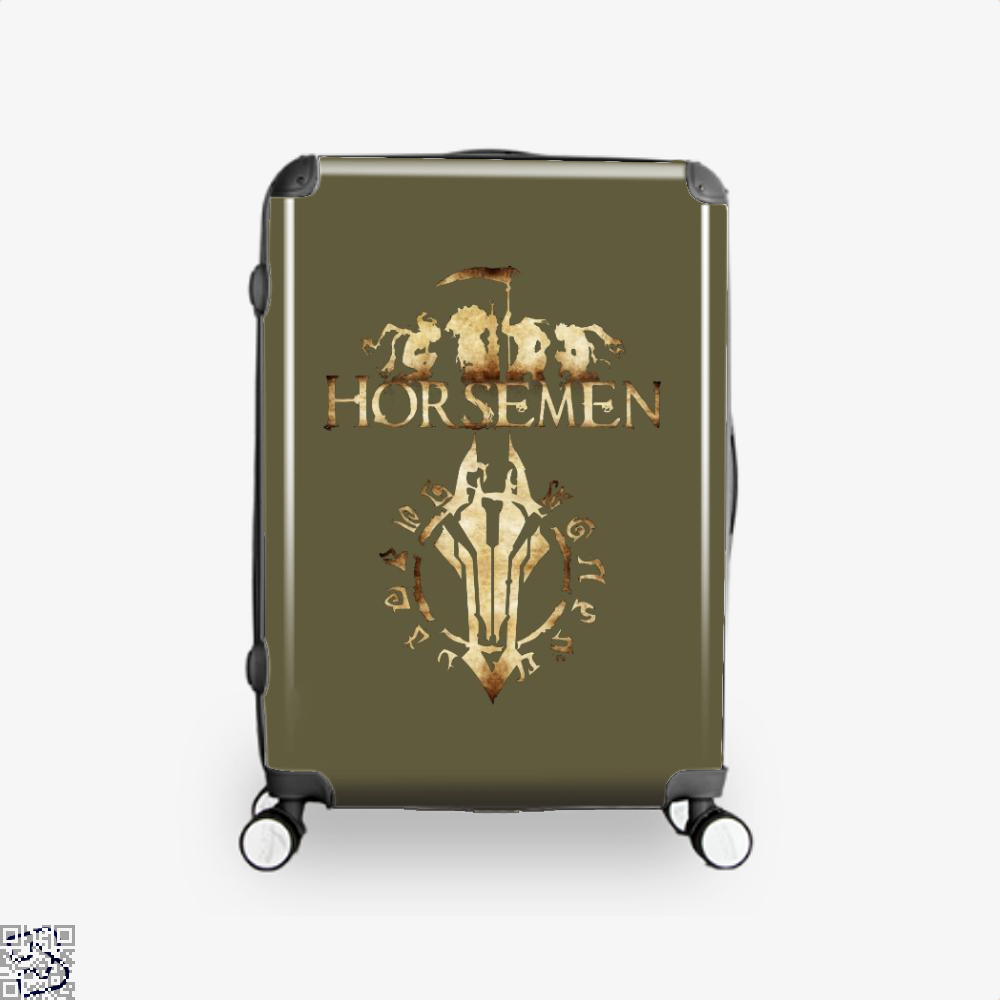 Horsemen Horse Suitcase - Brown / 16 - Productgenjpg