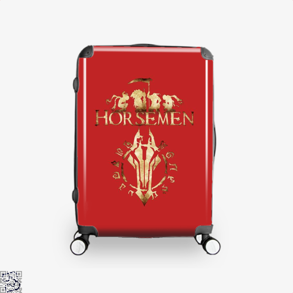 Horsemen Horse Suitcase - Red / 16 - Productgenjpg