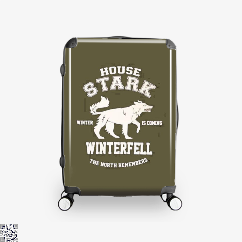 House Stark Game Of Thrones Of Suitcase - Brown / 16 - Productgenjpg