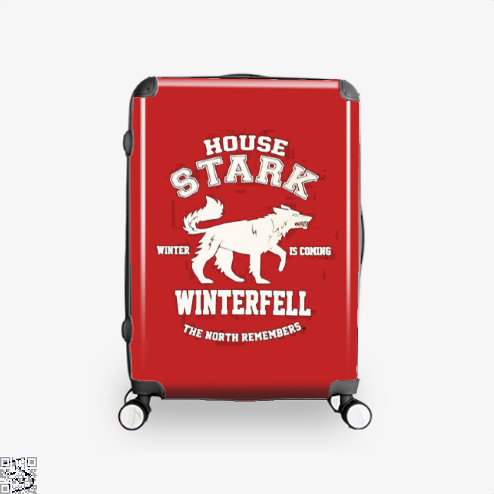 House Stark Game Of Thrones Of Suitcase - Red / 16 - Productgenjpg