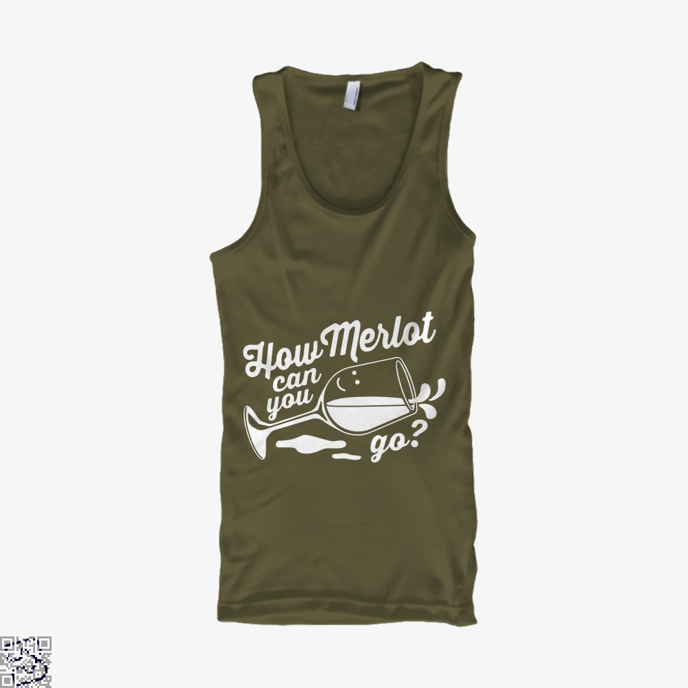 How Merlot Can You Go Grape Wine Tank Top - Men / Brown / Small - Productgenapi