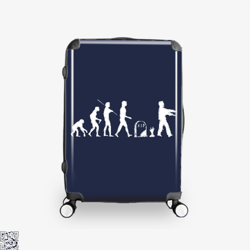 Human Evolutionary History Hyperbolic Suitcase - Blue / 16 - Productgenjpg