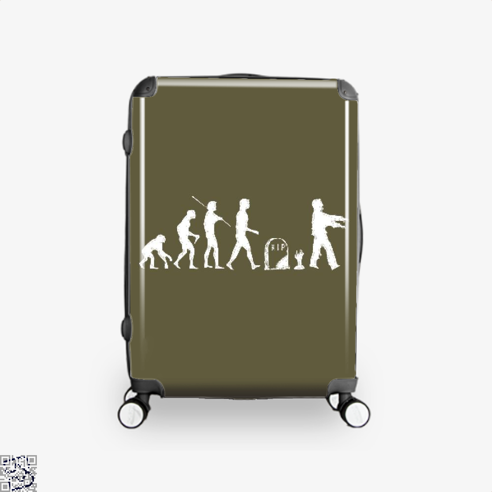 Human Evolutionary History Hyperbolic Suitcase - Brown / 16 - Productgenjpg