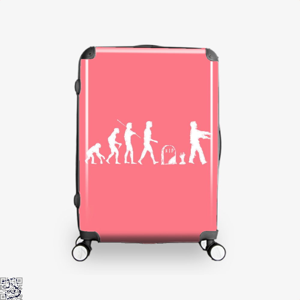 Human Evolutionary History Hyperbolic Suitcase - Pink / 16 - Productgenjpg