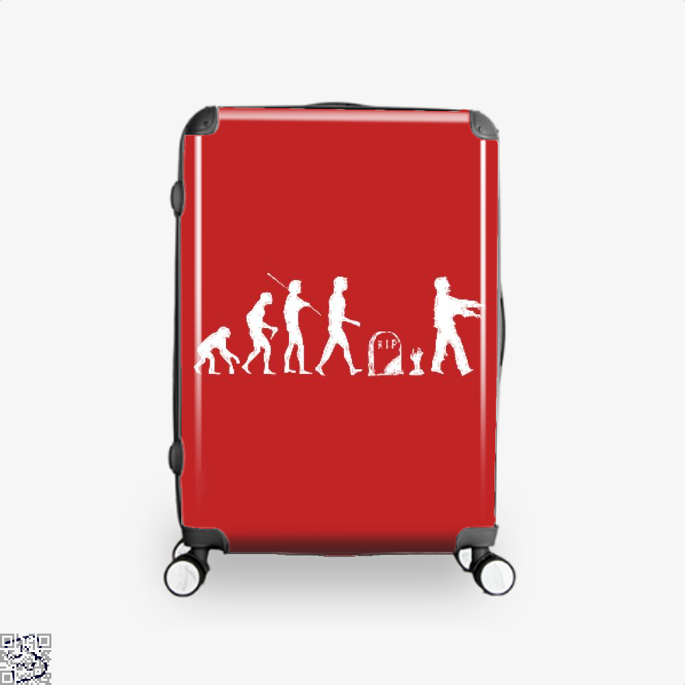 Human Evolutionary History Hyperbolic Suitcase - Red / 16 - Productgenjpg