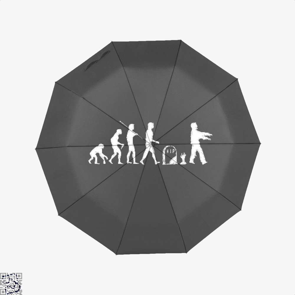 Human Evolutionary History Hyperbolic Umbrella - Productgenjpg