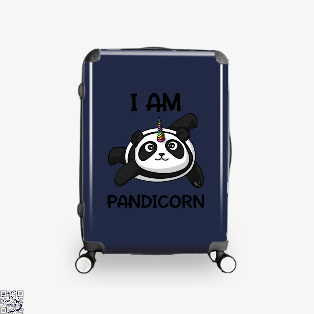 I Am Pandicorn Panda Suitcase - Blue / 16 - Productgenjpg
