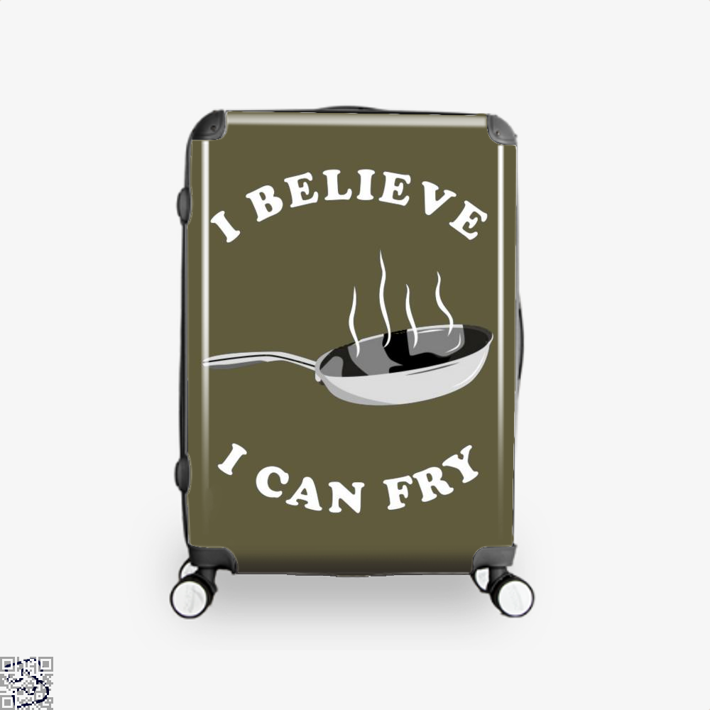 I Believe Can Fry Chefs Suitcase - Brown / 16 - Productgenapi