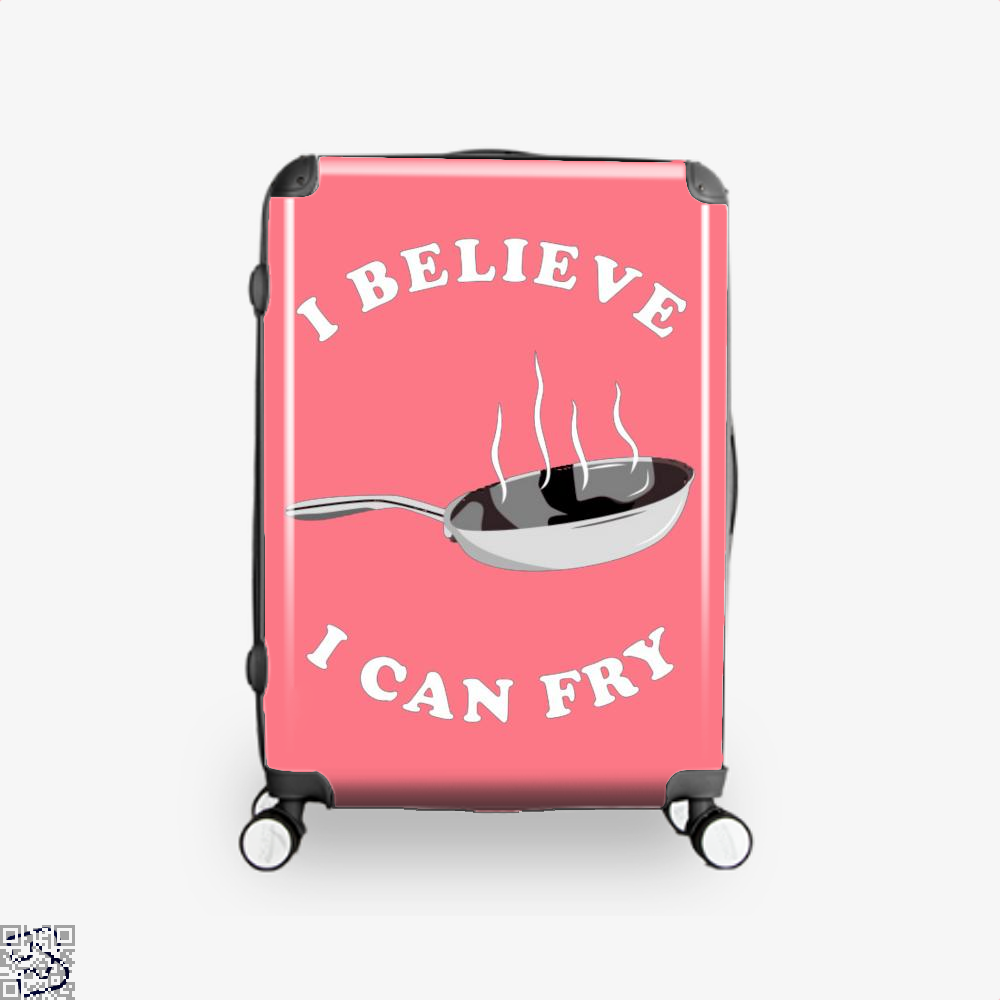 I Believe Can Fry Chefs Suitcase - Pink / 16 - Productgenapi