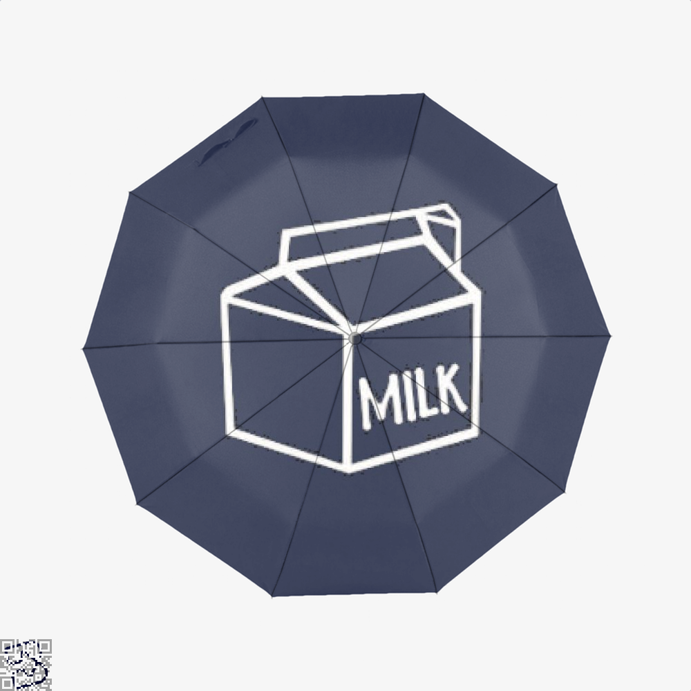 I Drink Milk Juvenile Umbrella - Blue - Productgenjpg