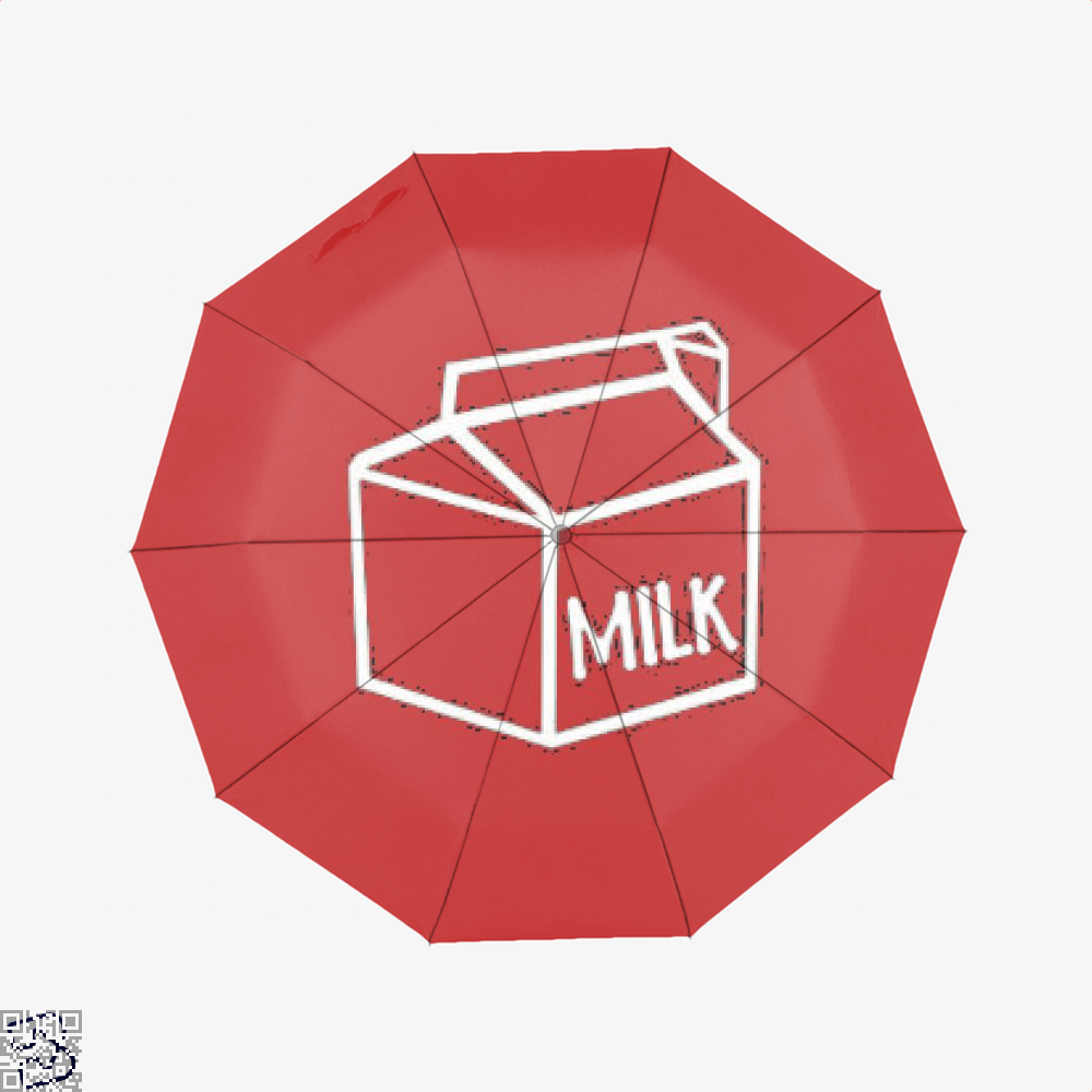 I Drink Milk Juvenile Umbrella - Red - Productgenjpg