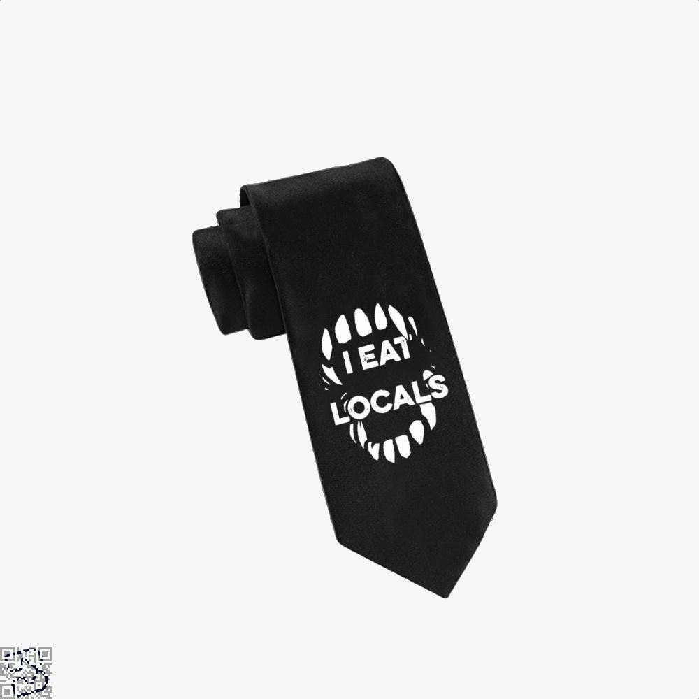 I Eat Locals Halloween Tie - Productgenjpg