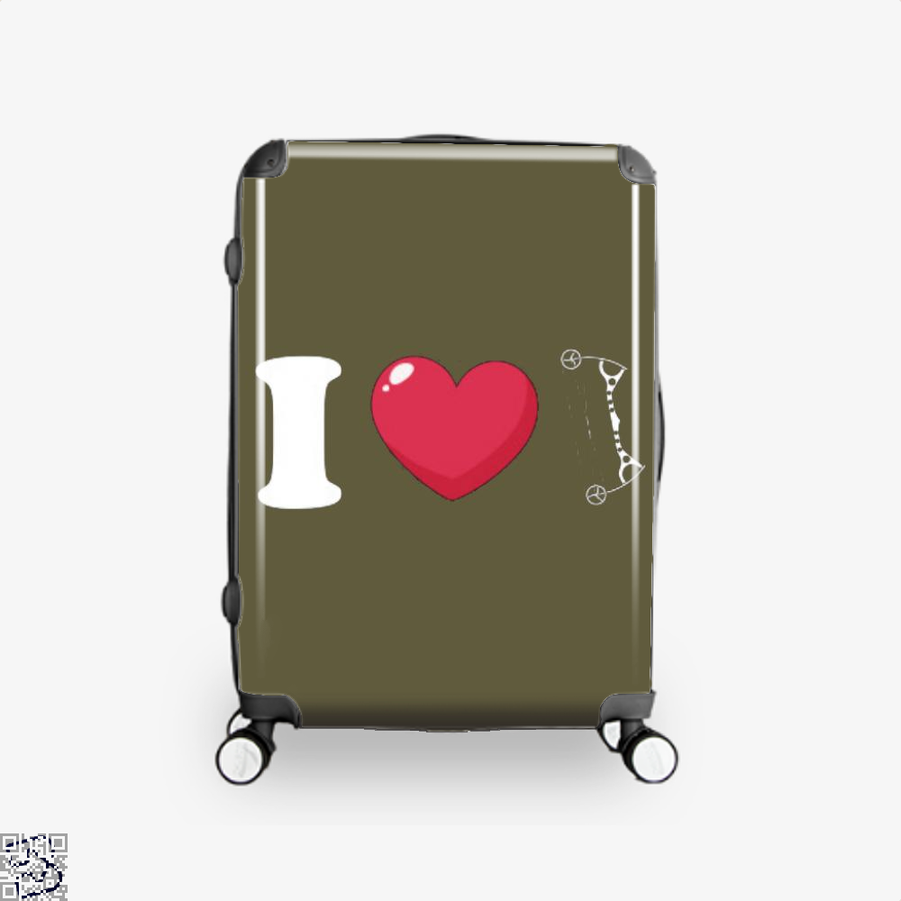 I Love Archery Suitcase - Brown / 16 - Productgenapi