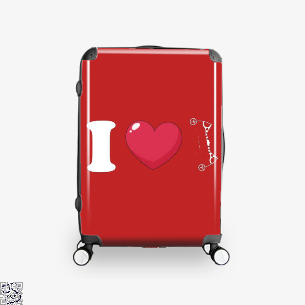 I Love Archery Suitcase - Red / 16 - Productgenapi