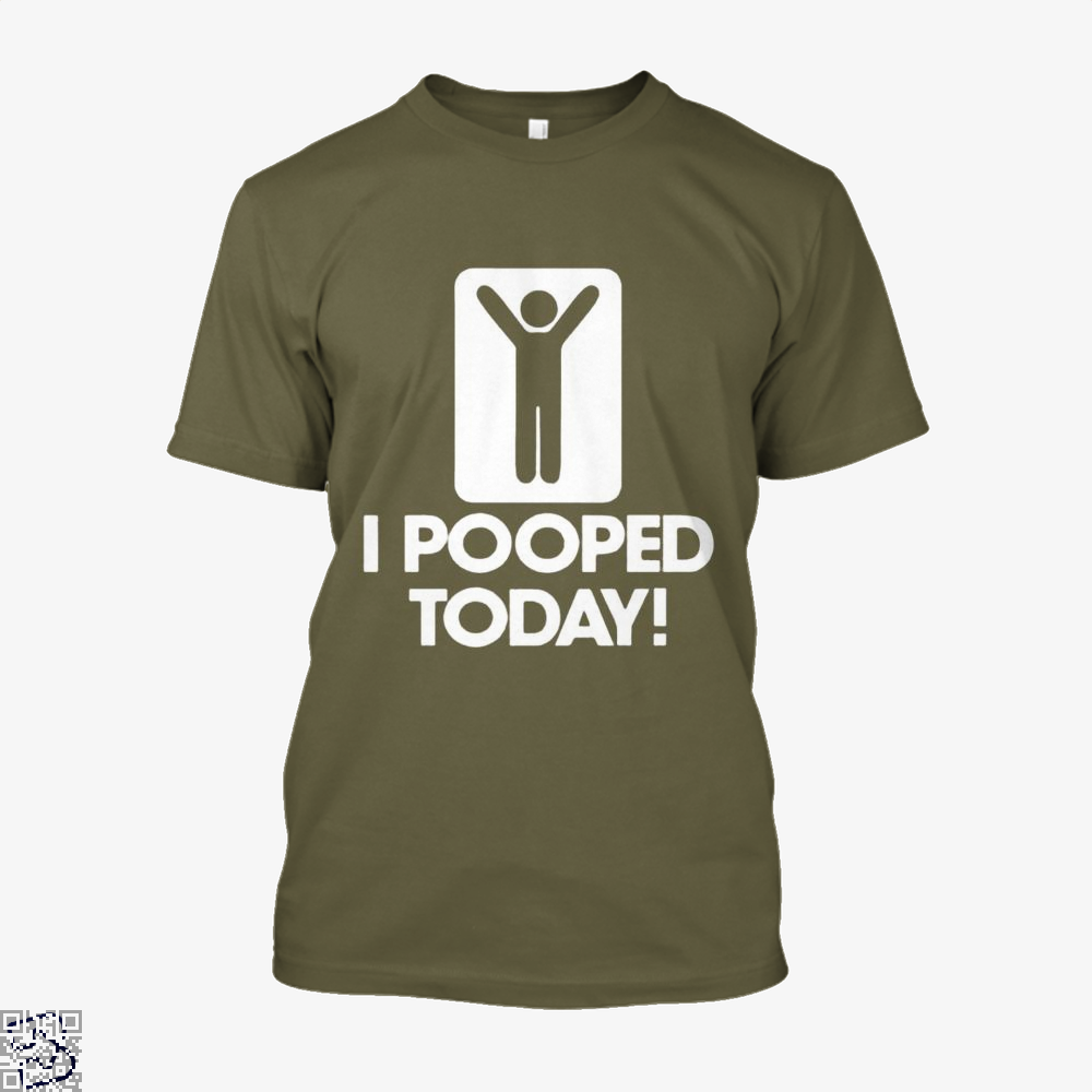 I Pooped Today! Hyperbolic Shirt - Men / Brown / X-Small - Productgenjpg