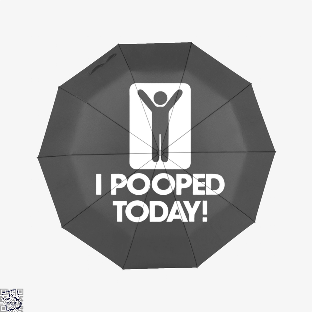 I Pooped Today! Hyperbolic Umbrella - Productgenjpg