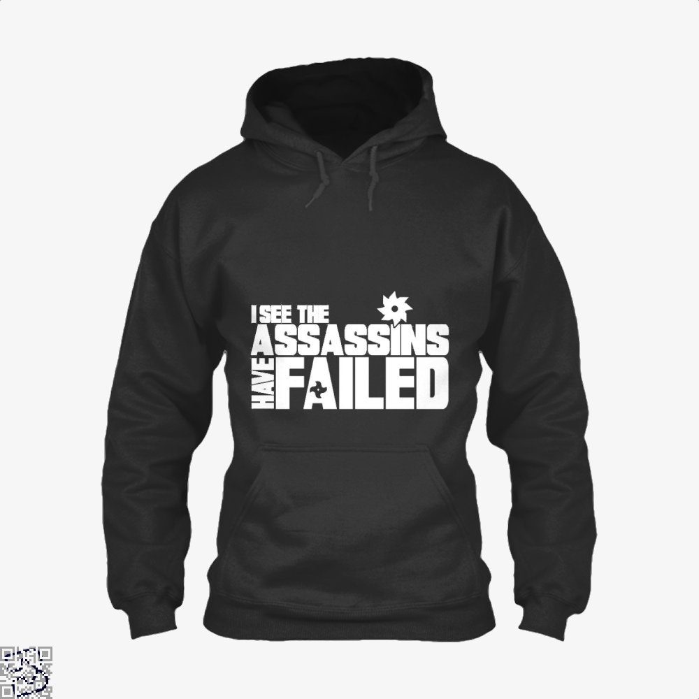 I See The Assassins Have Failed Creed Hoodie - Black / X-Small - Productgenjpg