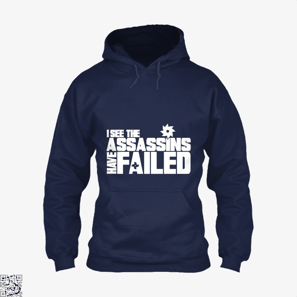 I See The Assassins Have Failed Creed Hoodie - Blue / X-Small - Productgenjpg