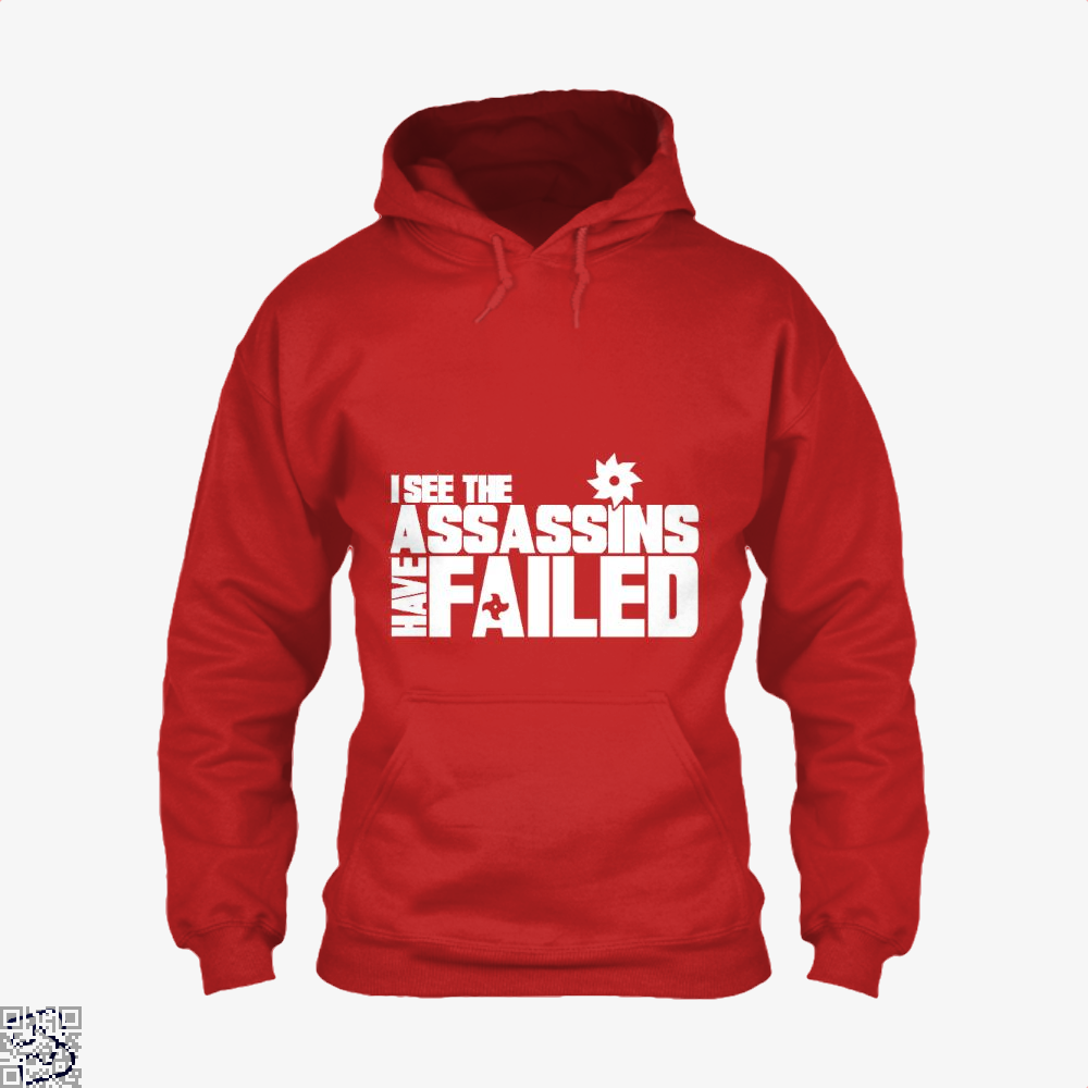I See The Assassins Have Failed Creed Hoodie - Red / X-Small - Productgenjpg