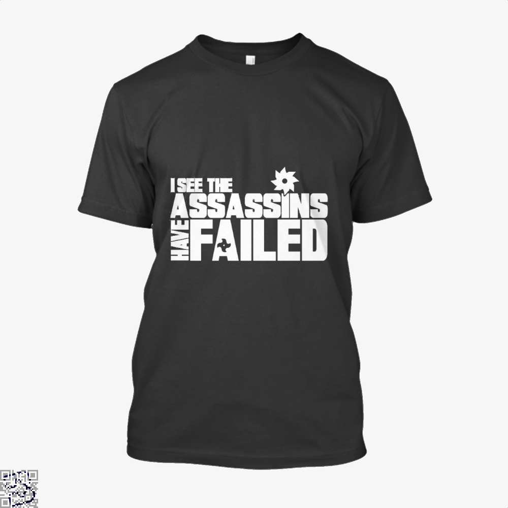I See The Assassins Have Failed Creed Shirt - Men / Black / X-Small - Productgenjpg