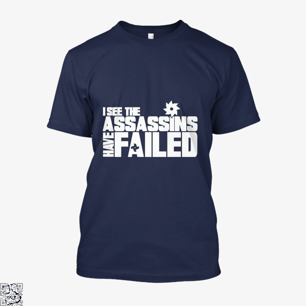 I See The Assassins Have Failed Creed Shirt - Men / Blue / X-Small - Productgenjpg