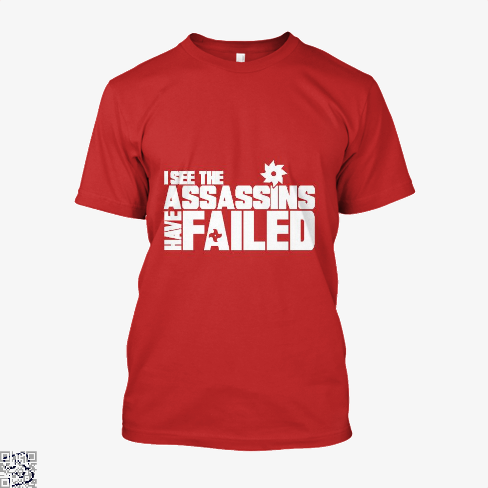 I See The Assassins Have Failed Creed Shirt - Men / Red / X-Small - Productgenjpg