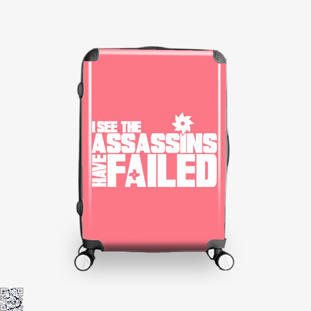 I See The Assassins Have Failed Creed Suitcase - Pink / 16 - Productgenjpg