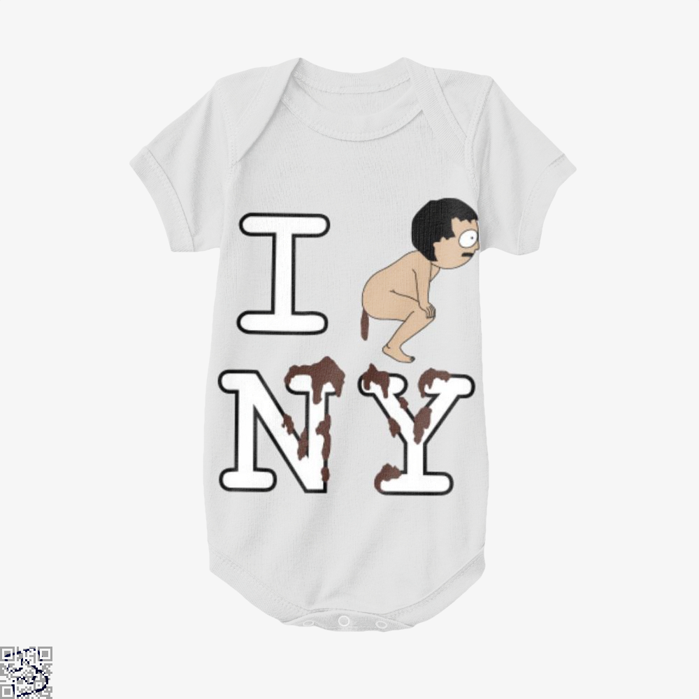 I Shit On Ny South Park Baby Onesie - White / 0-3 Months - Productgenapi