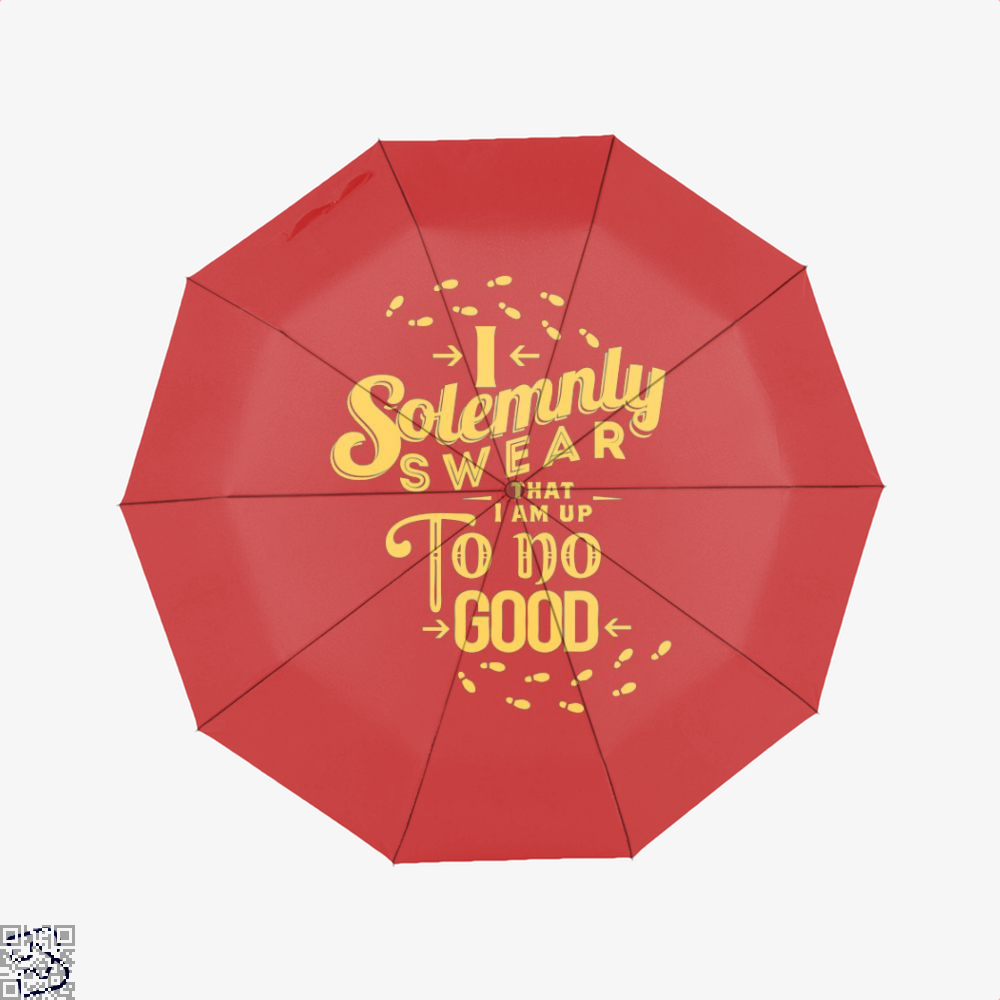 I Solemnly Swear Harry Potter Umbrella - Red - Productgenjpg