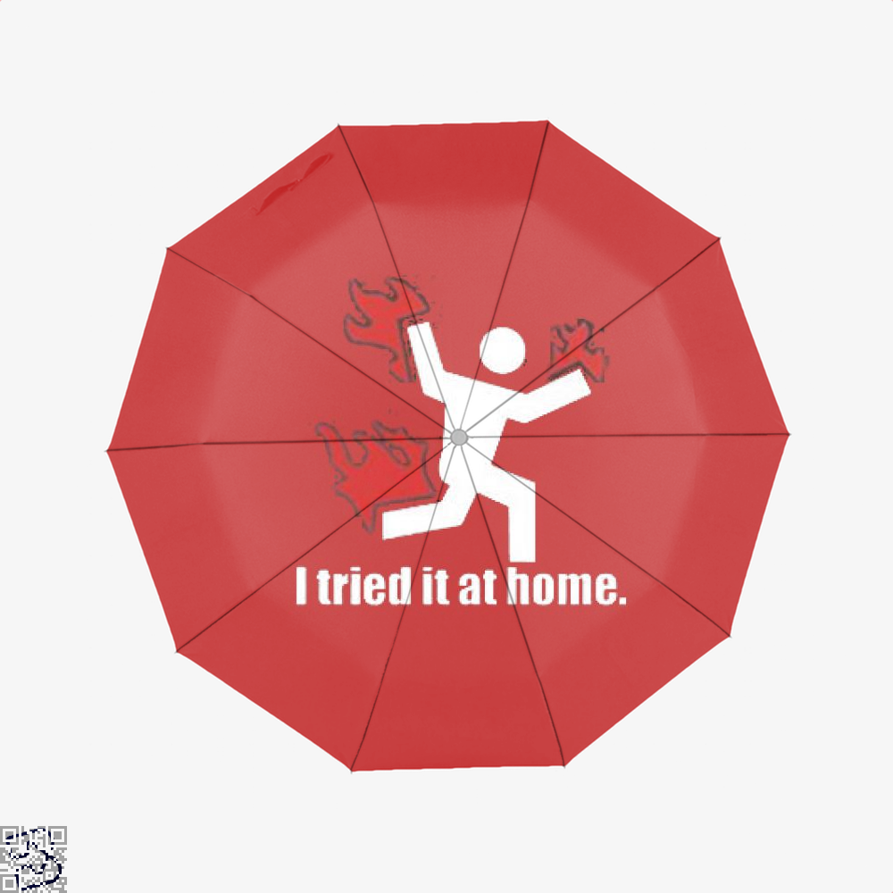 I Tried It At Home Hyperbolic Umbrella - Red - Productgenjpg