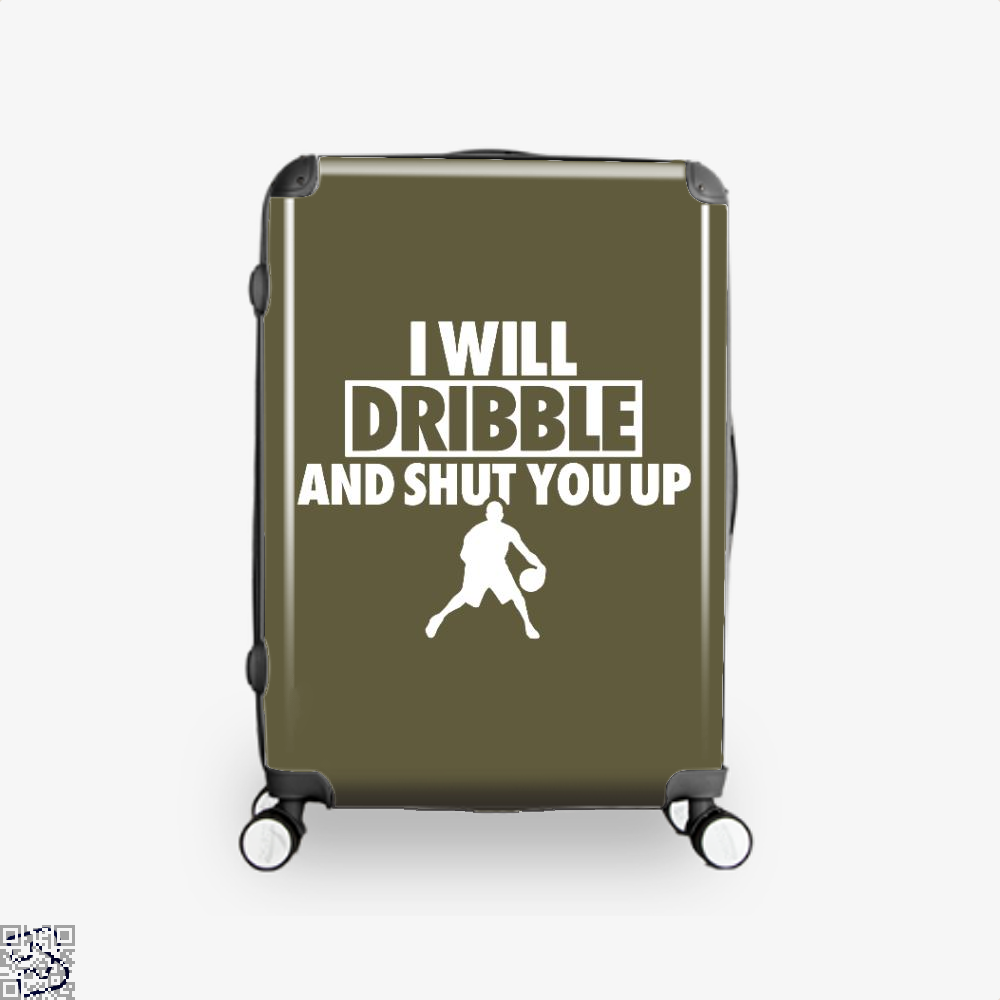 I Will Dribble And Shut You Up Cavs Suitcase - Brown / 16 - Productgenapi