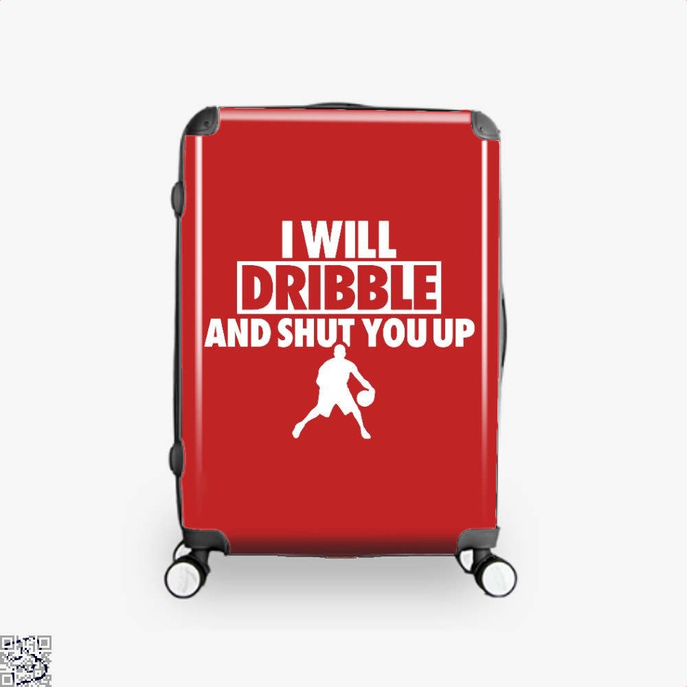 I Will Dribble And Shut You Up Cavs Suitcase - Red / 16 - Productgenapi