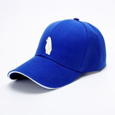 Ice Bear We Bare Bears Baseball Cap - Blue - Productgenapi