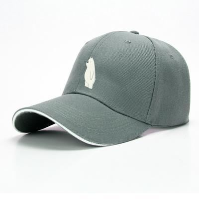 Ice Bear We Bare Bears Baseball Cap - Gray - Productgenapi