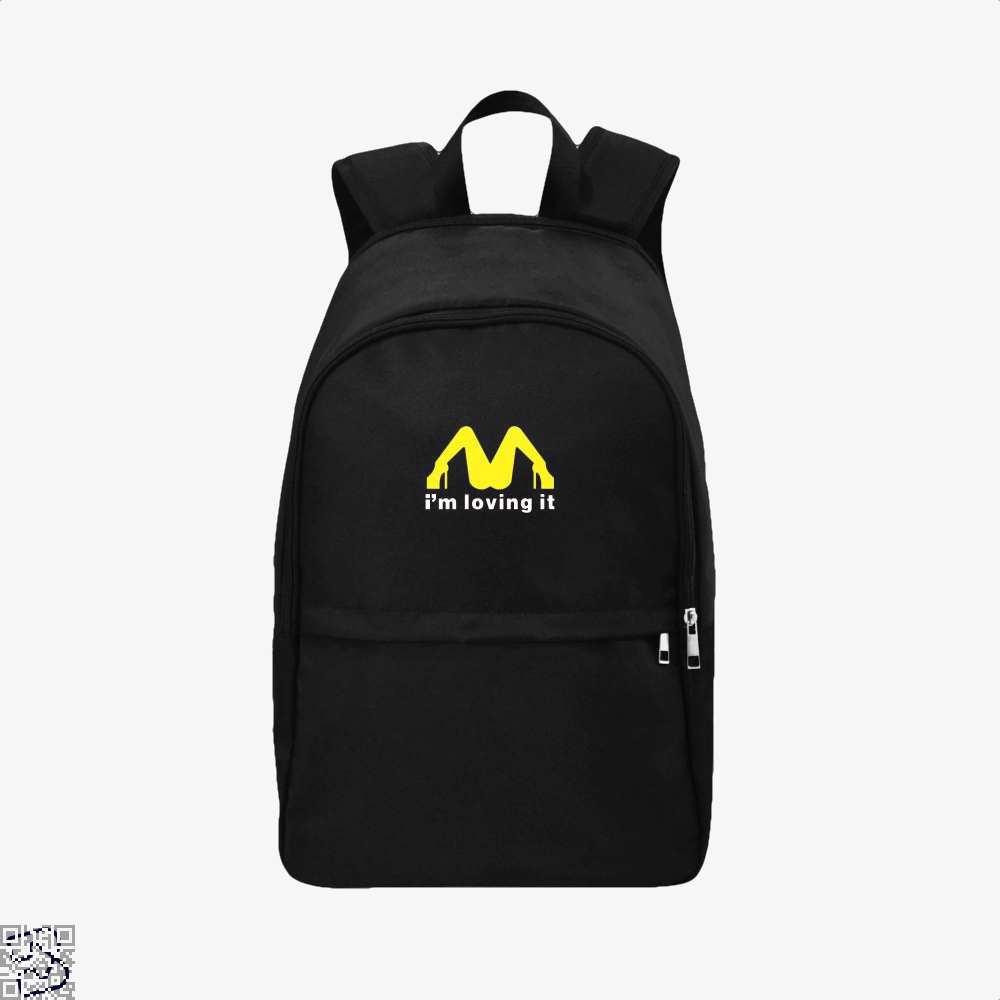 Im Loving It Mcdonald Risque Backpack - Black / Adult - Productgenjpg