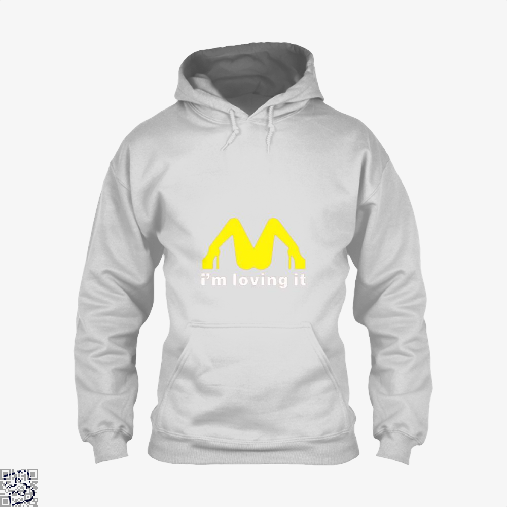 Im Loving It Mcdonald Risque Hoodie - White / X-Small - Productgenjpg