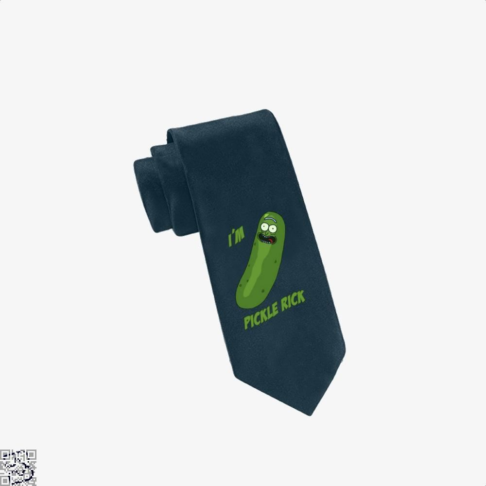 Im Pickle Rick And Morty Tie - Navy - Productgenapi