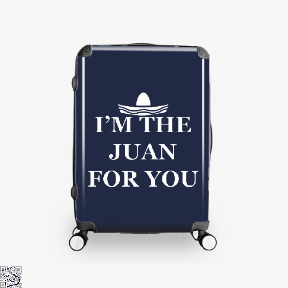 Im The Juan For You Epigrammatic Suitcase - Blue / 16 - Productgenjpg