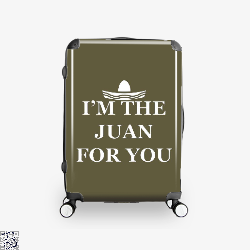 Im The Juan For You Epigrammatic Suitcase - Brown / 16 - Productgenjpg