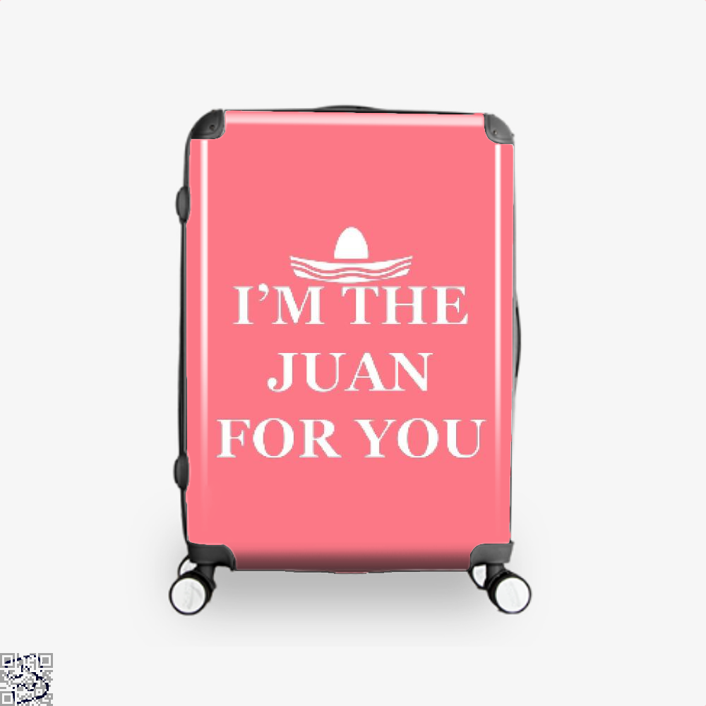 Im The Juan For You Epigrammatic Suitcase - Pink / 16 - Productgenjpg