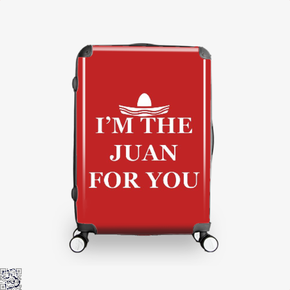 Im The Juan For You Epigrammatic Suitcase - Red / 16 - Productgenjpg
