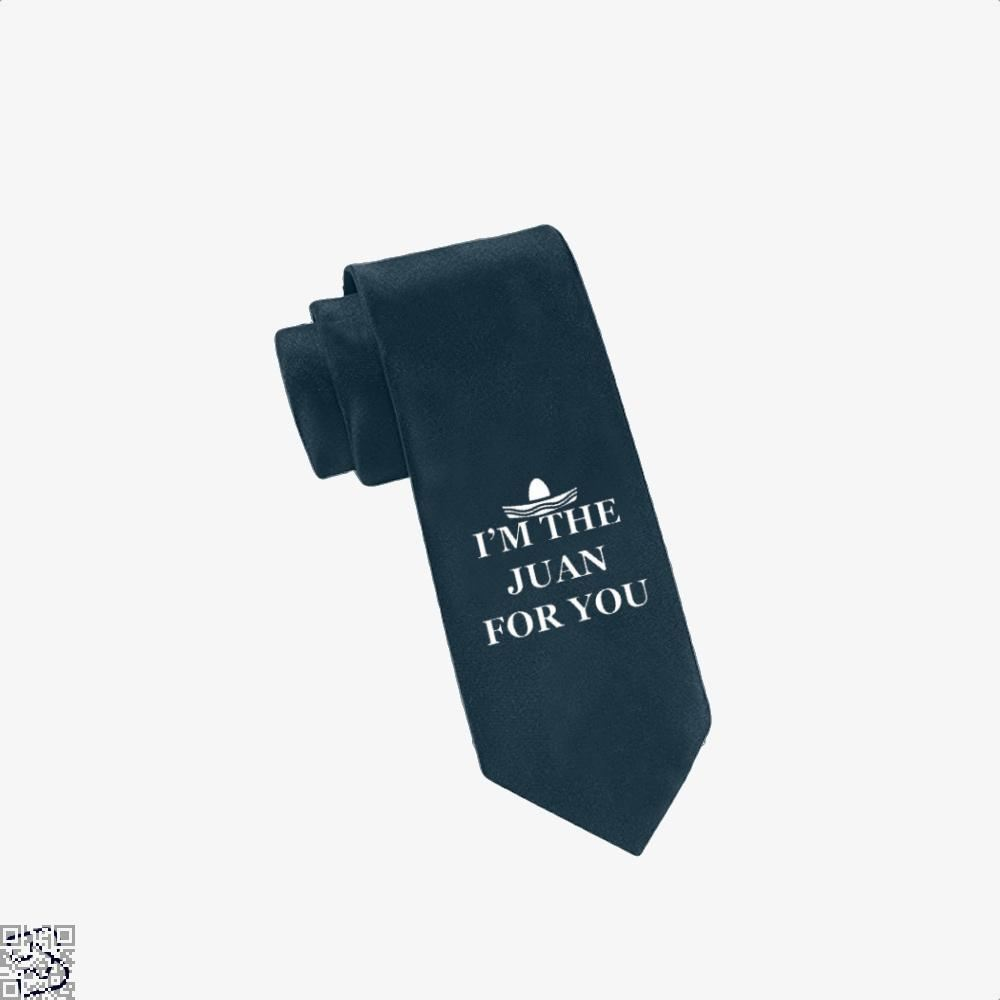 Im The Juan For You Epigrammatic Tie - Navy - Productgenjpg