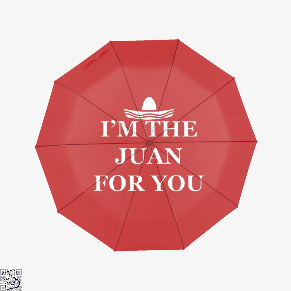 Im The Juan For You Epigrammatic Umbrella - Red - Productgenjpg