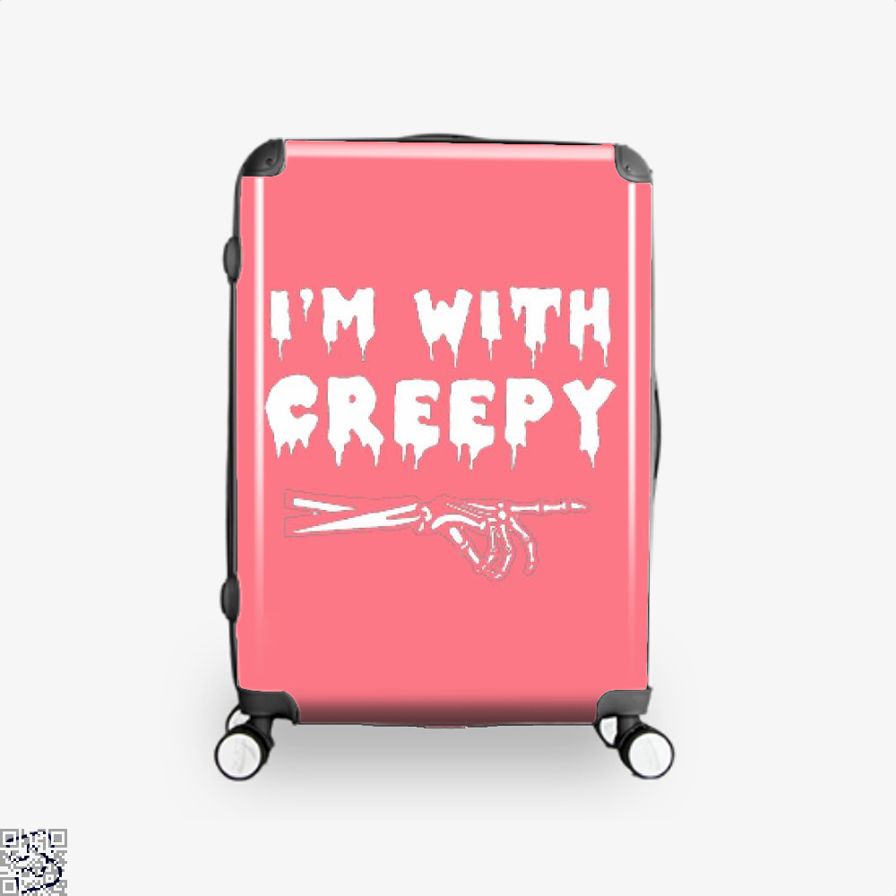 Im With Creepy Hyperbolic Suitcase - Productgenjpg