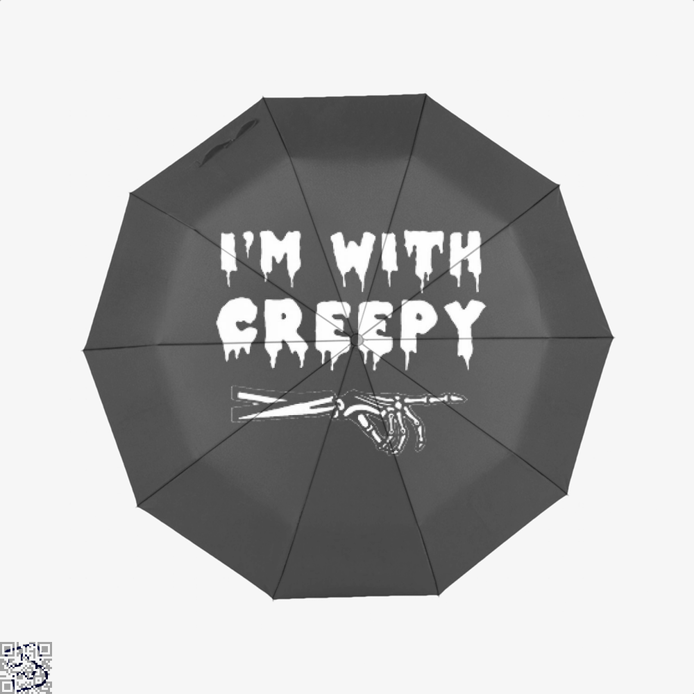Im With Creepy Hyperbolic Umbrella - Productgenjpg