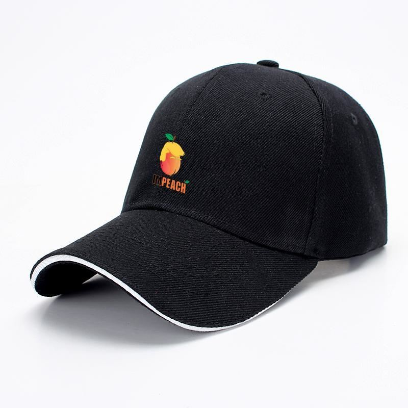 Impeach The Trump Baseball Cap - Black - Productgenjpg