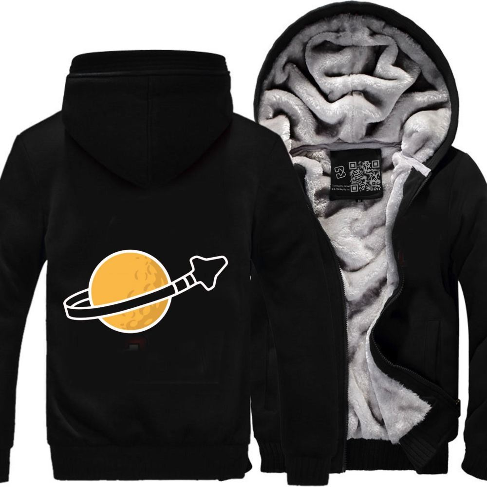 In Space Since 1978... Fleece Jacket - Black / X-Small - Productgenapi