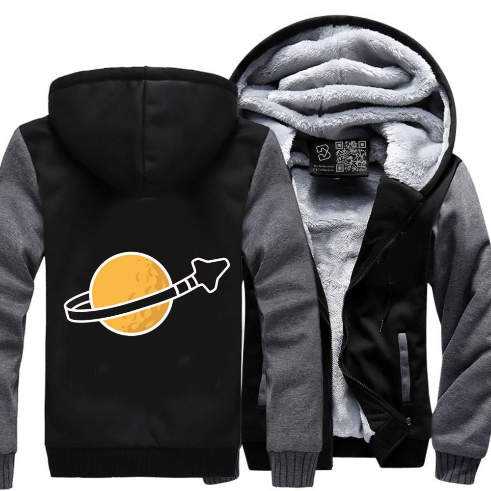 In Space Since 1978... Fleece Jacket - Gray / X-Small - Productgenapi